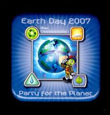 Disney Earth Day 2007 Button