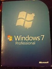 Microsoft Windows 7 Professional fqc-00129 retail box 100% Genuine