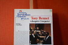 Tony Bennet Jeepers Creepers Tobacco Road  1981 LP Vinyl  NMint 2003