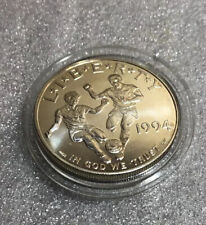 1994 D World Cup Tournament Silver Dollar - Coin Only