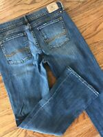 Lucky Brand Sweet N Low Stretch Bootcut Denim Jeans Ankle Short Petite 28/6 x 28