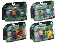 MUTANT BUSTERS SERIES 2 TV CHARACTER SERIES - ACTION FIGURES 3 PACK EDITION