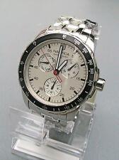 NEW IN BOX Nautica Men's Windseeker Multifunction Silver Dial Watch N13556G