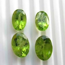 10.10 Cts Natural Genuine Peridot AAA Rectangle Faceted Shape Loose Stone