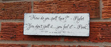 signs shabby vintage chic distressed pooh piglet quote plaque winnie the pooh