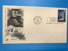#148 United Nations 1965 Fdc Definitive Issue Un Headquarters M203
