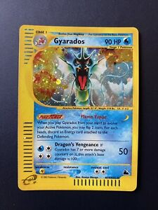 Gyarados H10 Rare Holo Skyridge 2003 Near Mint Pokemon Card