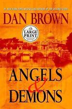 Robert Langdon: Angels and Demons by Dan Brown (2000, Hardcover, Large Print)