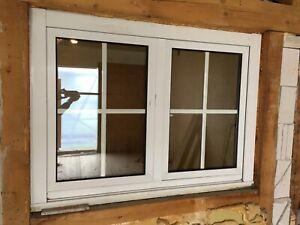 Holz-Alu Fenster 2 Flg. BxH 1035 x 1400mm
