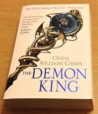 THE DEMON KING Cinda Williams Chima Book (The Seven Realms Trilogy) Paperback
