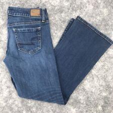 "American Eagle Jeans size 8 short Favorite Boyfriend bootcut low rise 32"" x 28"""