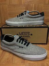 RARE🔥 VANS California Laced Era 59 Wool Gris Wolf Gray Sz 13 Classic VTG SICK!