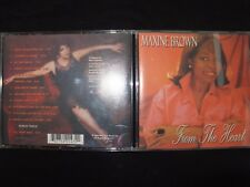CD MAXINE BROWN / FROM THE HEART / WITH BONUS TRACK / RARE /