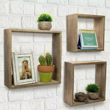 Floating Rustic Wall Shelves For Home Decor For Living Room Bedroom Kitchen...