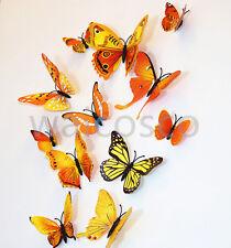 Plain Voile Curtain Panel Rod Pocket Net Slot 12x Butterfly Nice Decorations