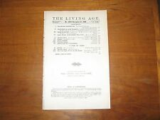 1908 Living Age Harvard, Early Flight, Edmund Candler, Victorien Sardou, Others