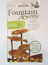 Acscents Water Treatment tablets for Table Top & Wall Fountains Fresh Mint