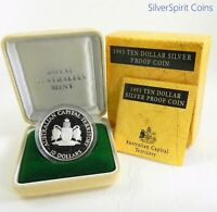 1993 STATE SERIES AUSTRALIAN CAPITAL TERRITORY Silver Proof Coin