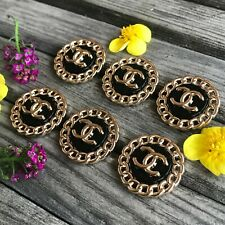Buttons Chanel 6pcs 23mm