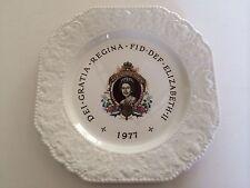 """Vintage Lord Nelson Pottery - England """"Queen Elizabeth II Silver Jubilee"""" Plate"""