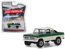 1971 Ford F-100 Pickup Green Cream 1:64 Diecast Model - Greenlight 35110B *
