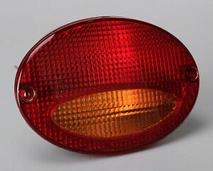 1997-2004 Corvette NOS Right Hand European Red/Amber Taillight Each GM# 10253892