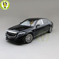 1/18 Brabus 900 Benz Maybach S CLASS Almost Real Diecast Model Car Toys Black