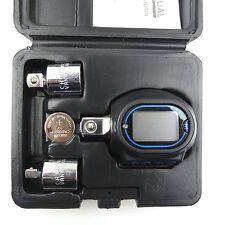 "Electronic Digital Torque Adaptor Tool Set ½ 3/8 or ¼"" Drive 40 - 200NM CT3547"