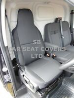 TO FIT CITROEN RELAY VAN SEAT COVER EBONY BLACK - MEDIUM ROOF DRIVER'S ONLY