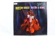Morton Gould Baton & Bows Orchestra Vintage Vinyl Record 1958 LP