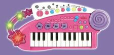 Vinsani Piano Carry Along Keyboard Musical Instrument Play Children Toys - Pink