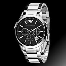 New Emporio Armani AR2434 Classic Men's Dial Chronograph Watch Ship From US