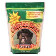 Charlee Bear 16 oz All Natural training Dog Treat W/ Cheese & Egg Flavor