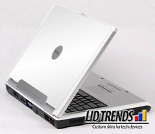 WHITE Vinyl Lid Skin Cover Decal fits Dell Inspiron 6000 Laptop