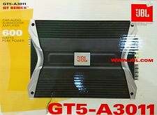 JBL Gt5-a3011 600 Watt Monoblock Subwoofer Car Amplifier Sub Amp GT5A3011