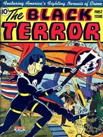 BLACK TERROR COMICS GOLDEN AGE COLLECTION PDF ON CD