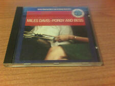CD MILES DAVIS PORGY AND BESS ORCHESTRA UNDER DIRECTION OF GIL EVANS P 1987