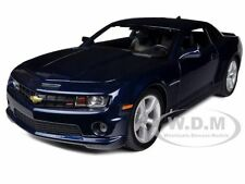 2010 CHEVROLET CAMARO RS SS BLUE 1/18 DIECAST MODEL CAR BY MAISTO 31173