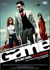 GAME (ABHISHEK BACHCHAN, KANGANA RANAUT) ~ BOLLYWOOD DVD