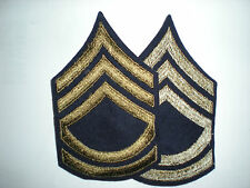 US Army WWII Sergeant First Class Stripes Original 1 Pair