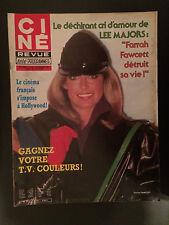 CINE REVUE 1981 N°52 farrah fawcett ornella muti
