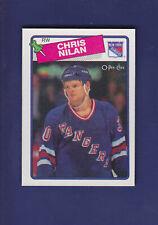 Chris Nilan 1988-89 O-PEE-CHEE Hockey #31 (NM+)