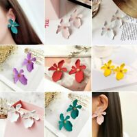 New Design Fashion Summer Style Jewelry Elegant Flower Statement Earring Party