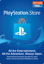PlayStation Network PSN $100 USD - PSN Store Card - 10% discount