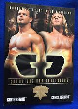 WWE WrestleMania XX Chris Jericho Event-Used Clothing Fleer Trading Card
