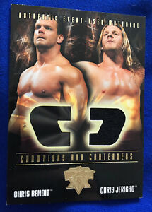 WWE WrestleMania XX Chris Jericho Event-Used Clothing Fleer Trading Card
