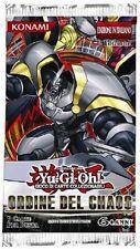 Busta: Ordine del Chaos YU-GI-OH! Nuova, Italiano, Unlimited