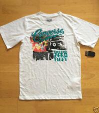 T-shirts et hauts blanc coton mélangé pour garçon de 2 à 16 ans