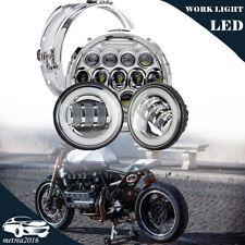 """7"""" Chrome LED Headlight Daytime Low Beam For Honda VTX 1300 C R S RETRO"""