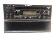 1999-2004 Honda Odyssey Stereo Head Unit Radio AM/FM CD Player W/ Storage Cubby